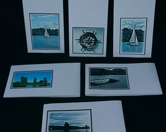 Nautical Magnetic Bookmarks - Pack of 6  (BM012016)
