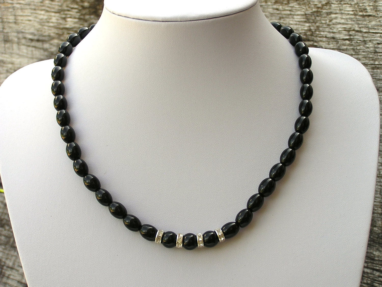 Bellezza Black Spinel Faceted Bead Station Necklace. Customer Pick Bellezza Black Spinel Faceted Bead Station Necklace Pricing $ or 3 payments of $ Rating. 12 (12) ♥.