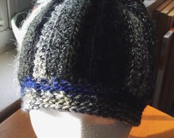 Hand Crocheted Pom-Pom Beanie