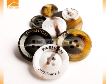 2000 custom Resin Buttons, Resin Buttons for clothing,  engraved Resin buttons
