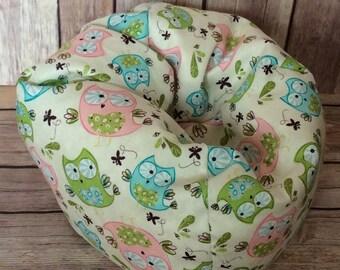 """18"""" Doll,American Doll Bean Bag Chair,Furniture  Hoot-Hoot Owl"""