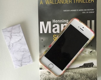 Magnetic bookmark - Marble effect
