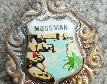Mossman souvenir spoon in box