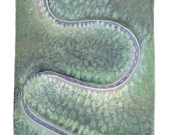 SALE* Art Print, The Road