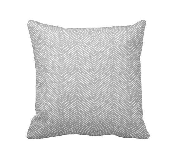 7 sizes available euro pillow cover grey pillow decorative. Black Bedroom Furniture Sets. Home Design Ideas