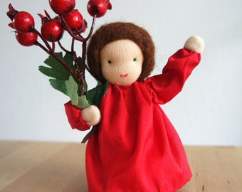 Red berries - Flower Child for Autumn