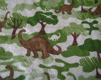 Dinosaurs Flannel Fabric ( 1-1/2 yards)