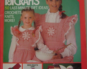 VINTAGE McCall's Needlework & Crafts Magazine - Nov/Dec 1983