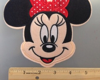 Medium Minnie Mouse patch
