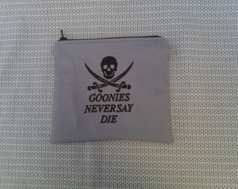 Goonies Embroidered Zipper Pouch