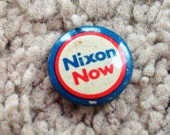 Nixon Politcal Button by Coadco