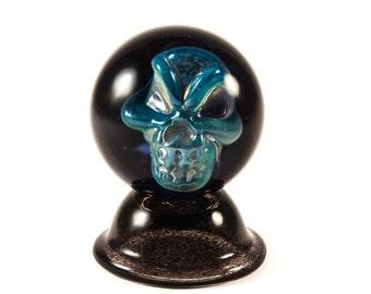 Clown Skull Marble by Brad Quintana