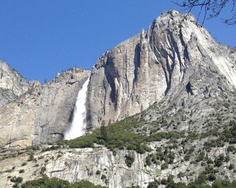 Printed picture of Yosemite Falls