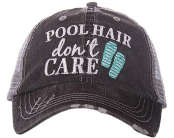 Pool Party Hat Etsy