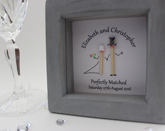 Perfectly Matched Personalised Wedding Gift