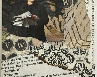"Sherlock Holmes Greeting Card ""The Hound"""