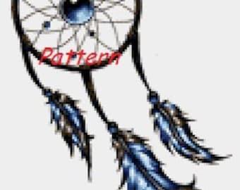 Dreamcatcher #5. Cross Stitch Pattern. PDF Files.