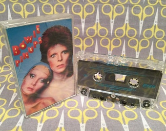 David Bowie - Pin Ups Vintage Cassette Tape rock