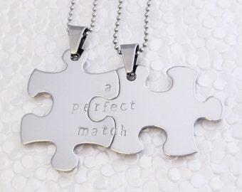 Double puzzle pendant