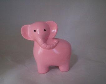 Pink Elephant Bank