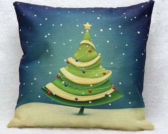 Christmas Tree - Pillow Cover