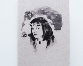 Mia Wallace Notebook
