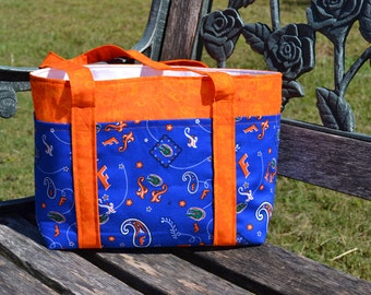 Florida Gators bag with SIX outer pockets