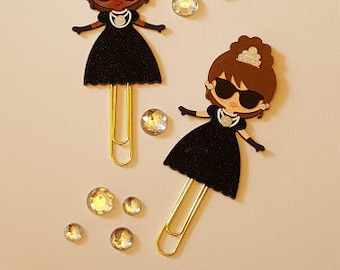 Audrey planner clip/ book mark/ planner accessory