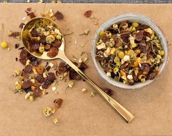 Chamomile Tea / Happy Tea / Citrus Herbal Tea / Herbal Tea Blend / Citrus Chamomile Tea  / NO. 137 / Happiness Herbal Chamomile tea