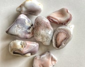 Botswana Agate Tumbled Stones- Set of 7 Tumbled Stones- Semi Precious Gemstones- Tumbled Agates