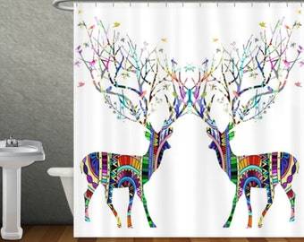 Etsy your place to buy and sell all things handmade for Fantasy shower curtains