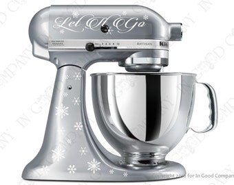 Disney's Frozen inspired Decal Kit for your Kitchenaid Stand Mixer