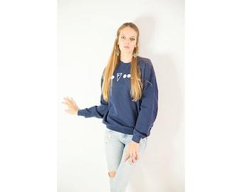 HIDDEN collection // limited edition blue sweatshirt