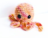 Sorbet Squid Amigurumi--- READY TO SHIP
