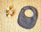 Bib Shibori Indigo 0-6 months reasons geometric