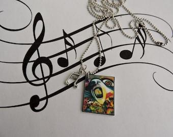 Pink Floyd, Pink Floyd Necklace, Pink Floyd Jewelry
