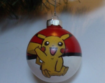 Pokemon Pikachu Ornament