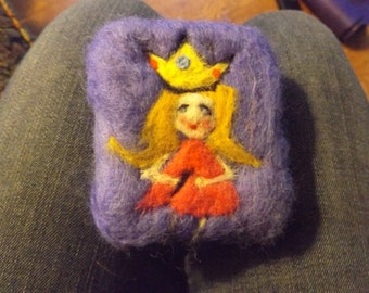 Princess Felted Soap