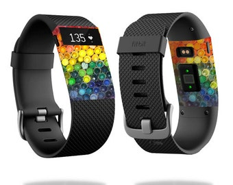 Skin Decal Wrap for Fitbit Blaze, Charge, Charge HR, Surge Watch cover sticker Color Me
