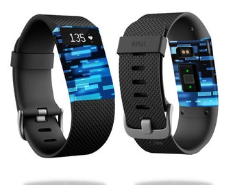 Skin Decal Wrap for Fitbit Blaze, Charge, Charge HR, Surge Watch cover sticker Space Blocks