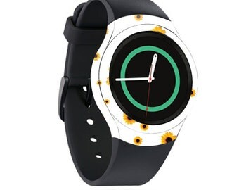 Skin Decal Wrap for Samsung Gear S2, S2 3G, Live, Neo S Smart Watch, Galaxy Gear Fit cover sticker Sunflower Shower