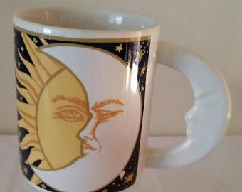 Vitromaster Galaxy Mug Sun and Moon Mug Celestial Mug Coffee Mug Coffee Cup