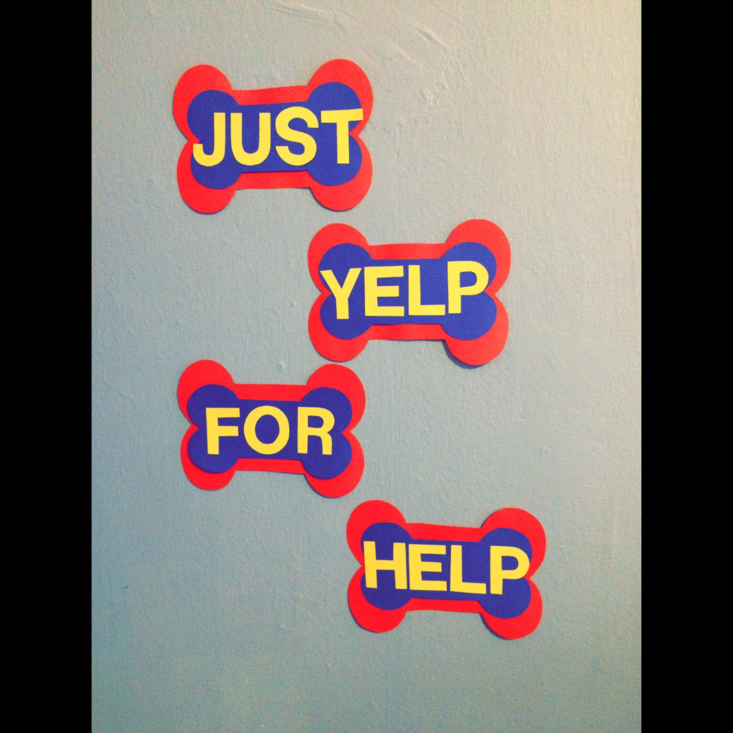 Blue apron yelp - Paw Patrol Just Yelp For Help Decoration