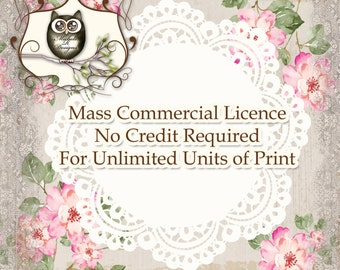 Mass Production (Unlimited) Licence For Commercial Runs