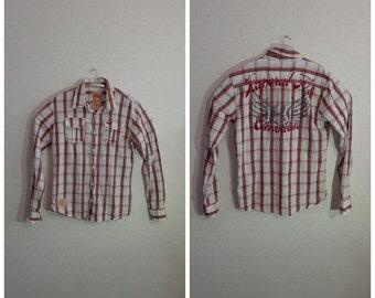 Vintage 80s.# Shirt for Mens# KAPORAL # Large Size