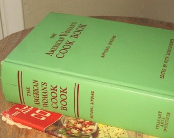 Vintage American Women's Cook Book