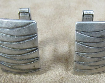 Sterling Silver Cuff Links By Elias