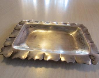Sterling Silver Trinket Tray  Vigueras 0925