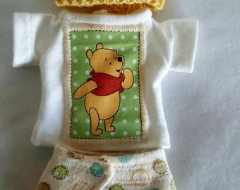 Adorable outfit for 8-9 inch baby