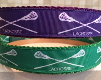 Lacrosse Large and Medium dog collar 1""